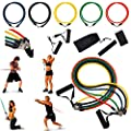 Insten� 11-piece set Exercise Fitness Resistance Workout Bands