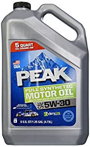 Peak p3ms55 5w 30 dexos approved synthetic for Peak synthetic motor oil review
