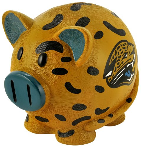 NFL Jacksonville Jaguars Small Thematic Piggy Bank - 1