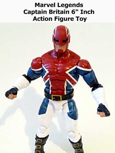 "Review: Marvel Legends Captain Britain 6"" Inch Action Figure Toy"
