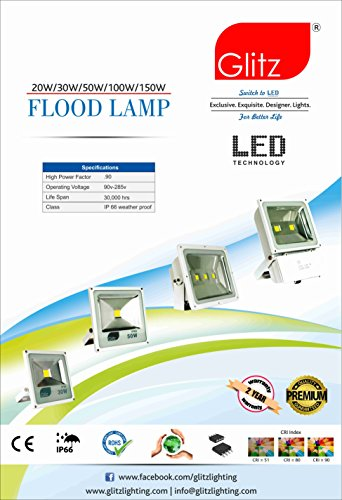 5W B22 90L LED Bulb (Cool White, Pack of 2)