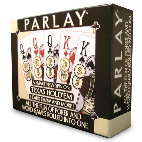 Parlay Word/Poker Hybrid Card Game (RDG1111)