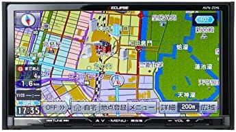 ECLIPSE イクリプス AVN-Z04i 7型 カーナビゲーション SD/CD/DVD/Bluetooth/Wi-Fi/フルセグ地上デジタルTV(フルセグ) AVシステム