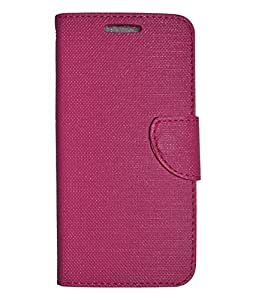 Colorcase Flip Cover Case for Infocus M330 - Pink