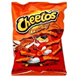Cheetos Cheese Snacks, Crunchy, 2-Ounce Large Single Serve Bags (Pack of 64) ~ Cheetos
