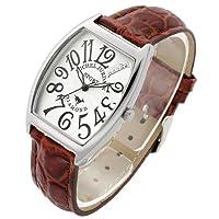 [ミッシェル・ジョルダン] michel Jurdain 腕時計 カサブランカ MJ1010G-WHBR メンズ [正規輸入品]