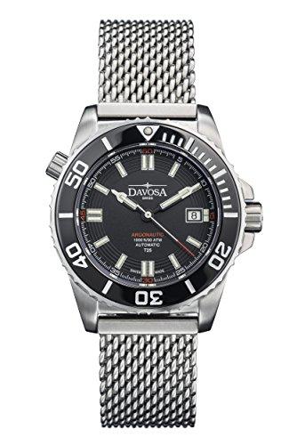 Davosa 16152010 Montre bracelet Hommes, Acier Inoxydable, couleur: Argent