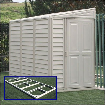 Vinyl lean to storage sheds for Lean to storage shed