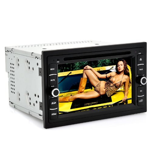 """Android Car Dvd Player """"Road Frenzy"""" - 6.2 Inch Touch Screen, Gps, Wi-Fi, 3G, Samsung Spc210 1.0Ghz (2 Din) front-403828"""