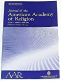 img - for Journal of the American Academy of Religion, Volume 77 Number 1, March 2009 book / textbook / text book