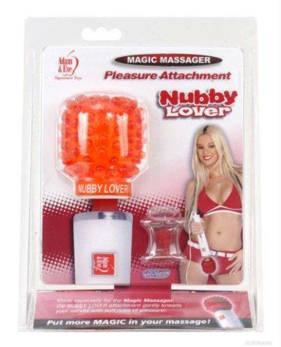 Adam & Eve Magic Massager Pleasure Attachment, Nubby Lover