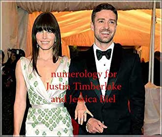 Numerology for Justin Timberlake and Jessica Biel