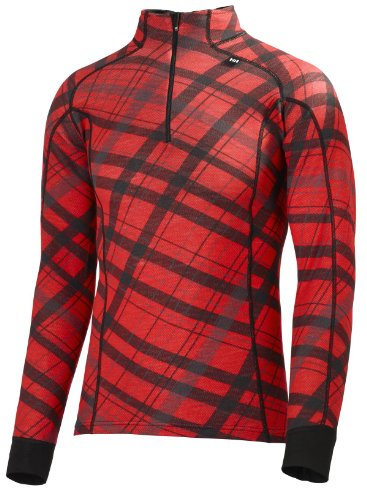 Helly Hansen Men's Warm Freeze 1/2 Zip Baselayer Top - Smoked Pearl, XX-Large