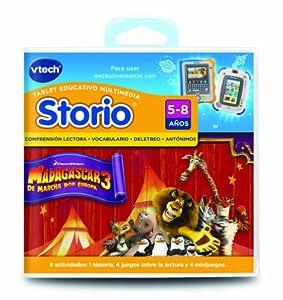 Spanish - Vtech Storio Juego Madagascar 3 - En Español: Toys & Games