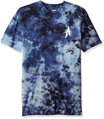 Altamont Men's Electric Clouds Decade Tie-Dye T-Shirt, Blue/Black, Large (Tie Dye Men compare prices)