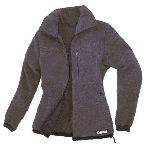 TAIGA Fleece Jacket-300 - Women's Polartec®-300 Fleece Jacket, Charcoal, MADE IN CANADA