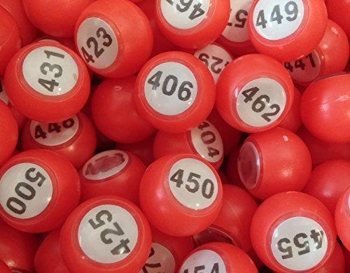 Tombola Boules 18mm 401 pour 500
