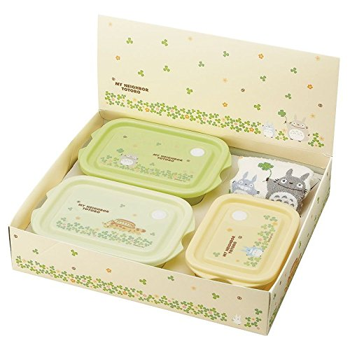 Totoro Totoro food container 3 points set SET819