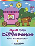 Spot The Difference - Picture Puzzle Book For Kids