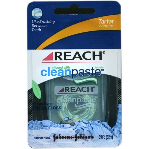 Reach CleanPaste Plus Tartar Control Floss 35 yds [Personal Care]
