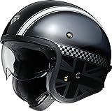 ショウエイ(SHOEI) バイクヘルメット ジェット J・O HAWKER (ホーカー) TC-5 BLACK/SILVER L (59cm) -