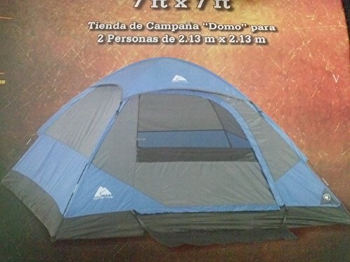 Ozark Trail 2 Person Dome Tent, 7' X 7' front-16464