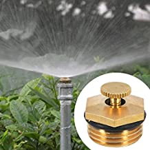 Generic 5pcs Adjustable Centrifugal Atomizing Nozzle Lawn And Garden Sprinkler Dust Cool Micro Jet Mist Agricultural...
