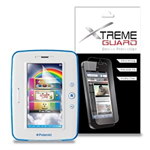 """XtremeGUARD© Screen Protector (Ultra CLEAR) For Polaroid 7"""" KIDS TABLET PTAB750 at Electronic-Readers.com"""