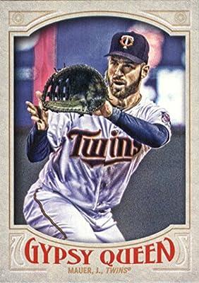 2016 Topps Gypsy Queen #36 Joe Mauer Minnesota Twins Baseball Card