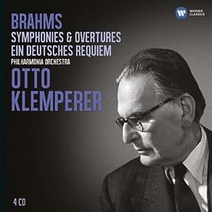 Brahms : Requiem allemand - Symphonies n° 1 à 4 - Ouvertures - Rhapsodie pour alto