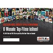 Post image for 6 Monate Lovefilm für 20€ – für Neukunden 2 weitere Monate oder 1 Monat + 15€ Amazon Gutschein möglich *UPDATE2* ab 17 Uhr