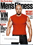 MEN'S FITNESS Magazine (6-7/11) Fast Five's VIN DIESEL