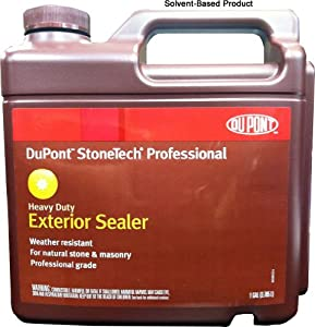 dupont stonetech professional solvent based heavy duty exterior sealer 1 gallon tile grout