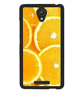 Printvisa Sliced Oranges Background Back Case Cover for Xiaomi Redmi Note 2::Xiaomi Redmi Note 2 (2nd Gen)