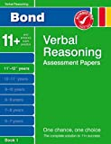 J M Bond Bond Verbal Reasoning Assessment Papers 11+-12+ years Book 1