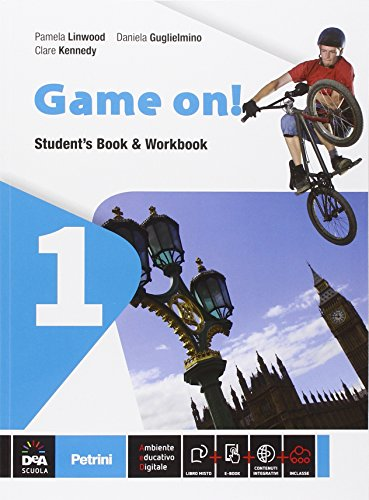 Game on! Student's book-Workbook-Grammar. Con e-book. Con espansione online. Per la Scuola media: 1