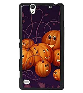 PRINTSWAG CARTOON PATTERN Designer Back Cover Case for SONY XPERIA C4