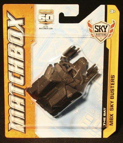 THE BAT * BATMAN / GOTHAM CITY * Die-Cast 2012 MATCHBOX Sky Busters Series Airplane