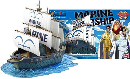 One Piece Navy Warship Model Kit: Bandai Hobby X One Piece Grand Ship Collection #07