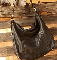 Hollister Large Hobo Concealed Carry Handbag (Black)