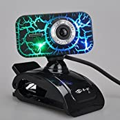 USB HD Webcam Camera With Microphone 7 Colorful Led Night Vision