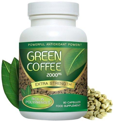 Grønn kaffe slank Amazon grønne kaffebønner