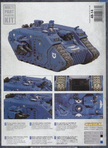 Space Marine Land Raider Tank Warhammer 40k