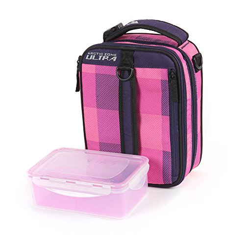 Arctic Zone High Performance Expandable Lunch Pack, Pink/Purple - 1
