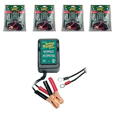 Deltran BT Battery Tender Junior 12V Charger in Value 4-Pack 21-0123