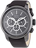 Esprit Herren-Armbanduhr XL Zethos Chronograph Quarz Leder EL102171003
