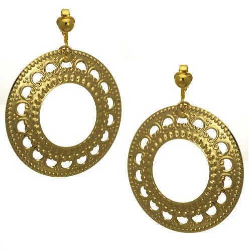Ultimate Gold Clip On Earrings