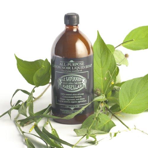 Le Savonnier Marseillais - All-Purpose Liquid Soap Eucyalyptus - 1 Liter