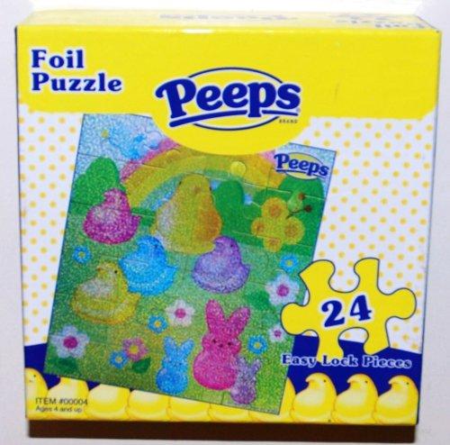 Peeps 24 Piece Foil Jigsaw Puzzle (1 Each)