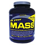 Maximum Human Performance, Up Your Mass, Vanilla, 5-pound Tub